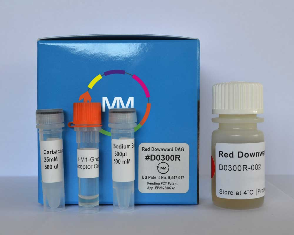 #D0300R Red Down DAG Assay Kit